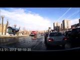 ДТП с пожарной машиной Первоуральск