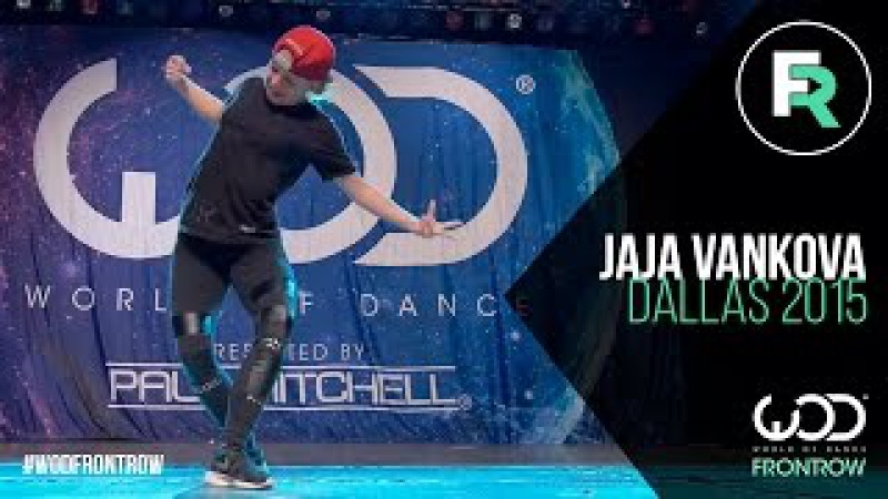 Jaja Vankova | FRONTROW | World of Dance Dallas 2015 WODDALLAS2015