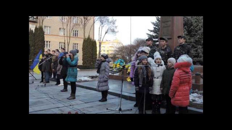 Рівненські діти присвятили зворушливу пісню загиблим під Крутами