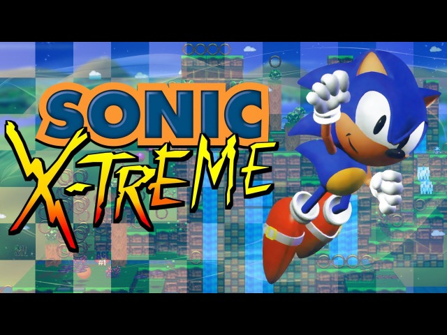 Sonic X-treme (July 14, 1996 Build) - Gameplay