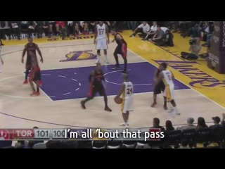 Kobe Bryant with the TRAVEL |
