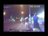 Очередное полиц.насилие, город Gardena (США), 3 копа стреляют в трех невооруженных мужчин
