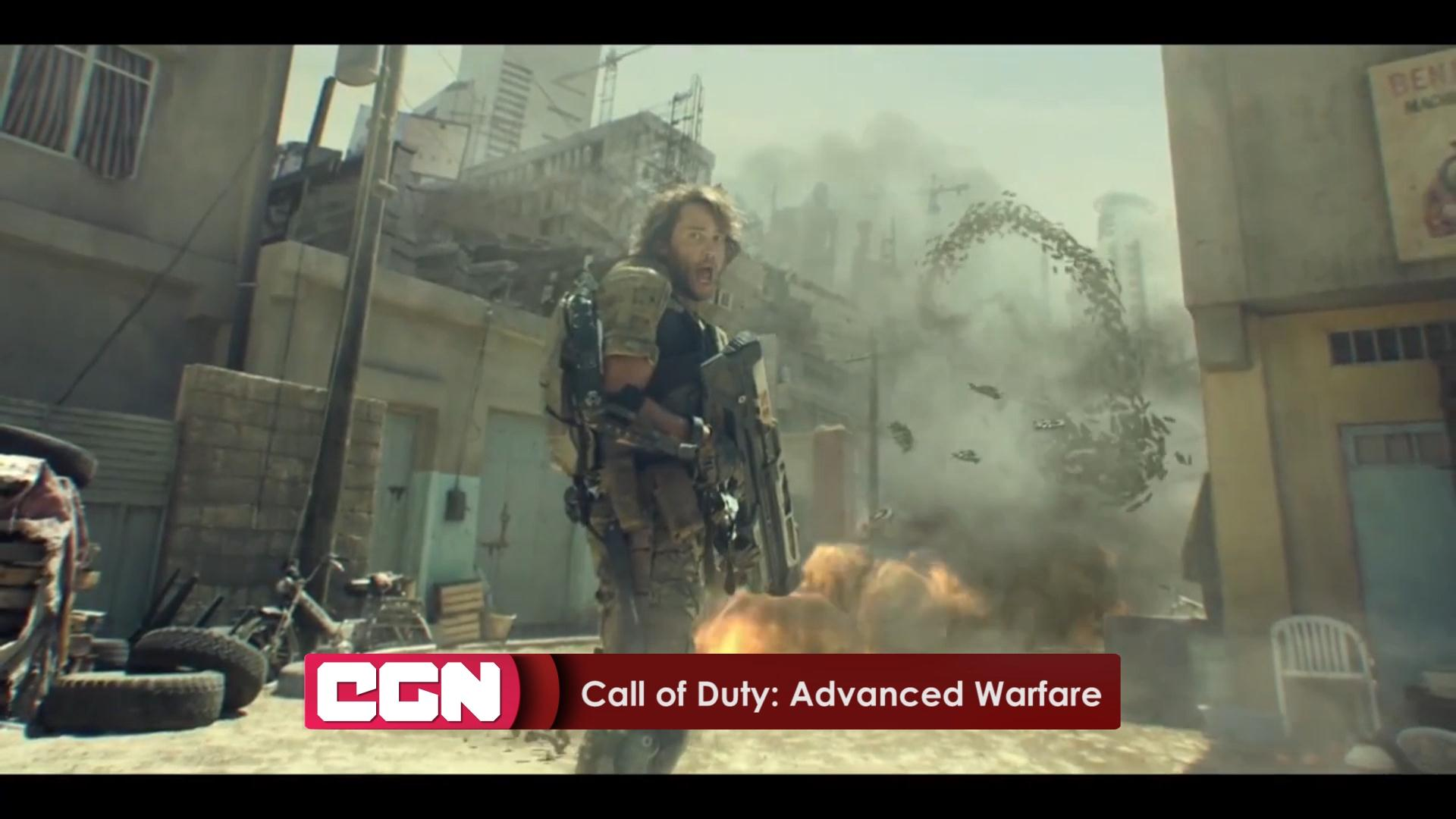 CGN новости - Call of Duty: Advanced Warfare - трейлер - 31.10.2014 14:00