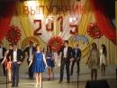 Танец 11Б класса на выпускном 2015