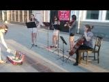 МОРТАЛ КОМБАТ / MORTAL KOMBAT, музыку из знаменитого фильма сыграли на скрипках в г. Самара