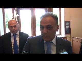Министр транспорта и связи Армении Гагик Бегларян о подорожании электроэнергии 25 июня 2015 года