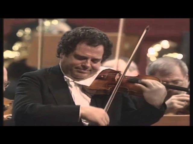 Itzhak Perlman - Beethoven Violin Concerto - Daniel Barenboim