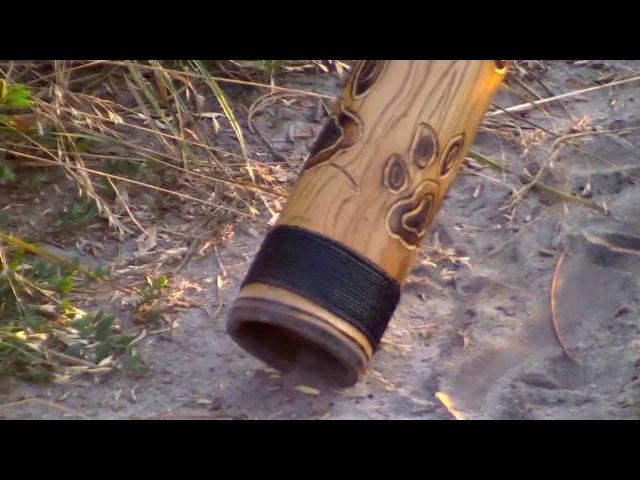 Мистические звуки диджериду-Didjeridoo (инструмент австралийских аборигенов).
