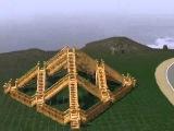 Симс 3 Пирамида из лестниц