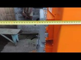 Глубина твердотопливного котла Сан серии Эко мощностью 10квт Сан Эко