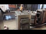 Сан Эко твердотопливный котел мощностью 13 квт в процессе изготовления