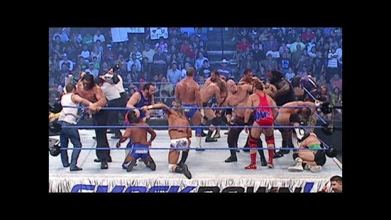 20 Man Battle Royal for the vacant World Heavyweight Title SmackDown July 20 2007  » онлайн видео ролик на XXL Порно онлайн