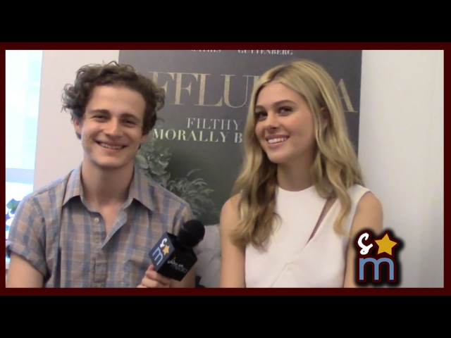 Nicola Peltz Ben Rosenfield Talk Affluenza, Social Media More