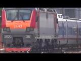 ЭП20-015 и Стриж Поезд № 708Н МОСКВА КУР → Н.НОВГОРОД М. YouTube 999Alexxis