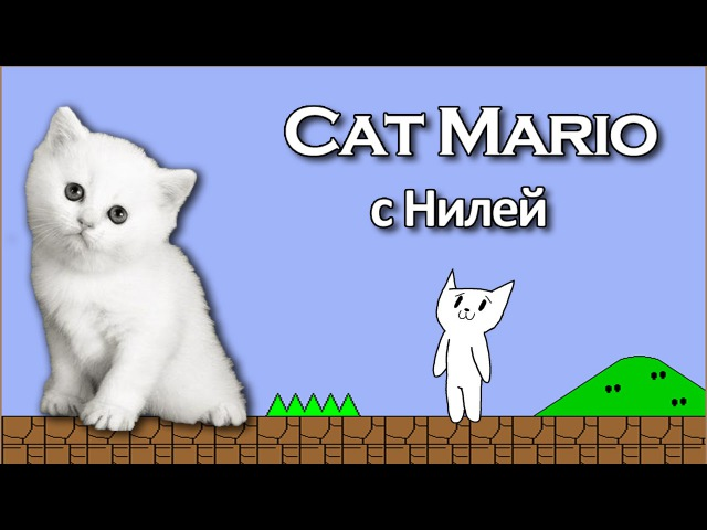 Cat Mario (Syobon Action) с Нилей