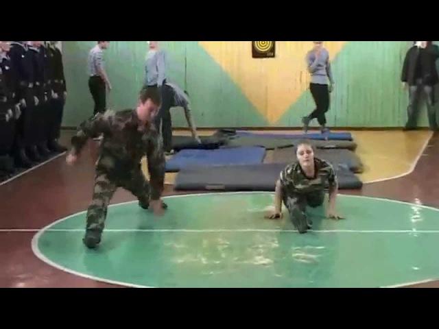 Гимнастика в школе-лицее. Gymnastics at the Lyceum ( - 3)