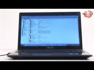 ВИДЕО-обзор Ноутбук Asus (X53S/K53Sm)(HD)