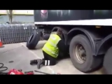 рекорд по перебортированию колес грузовика