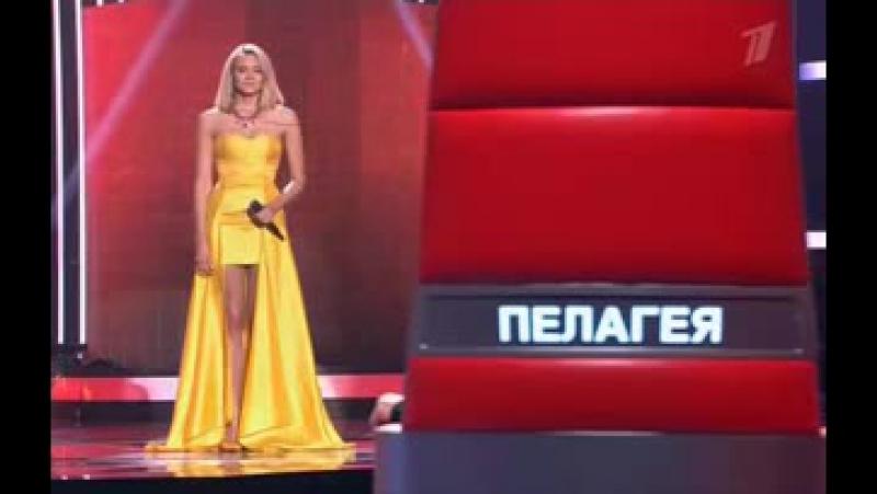Голос 3 сезон - Александра Воробьёва 'Chandelier' (Люстра) (1)