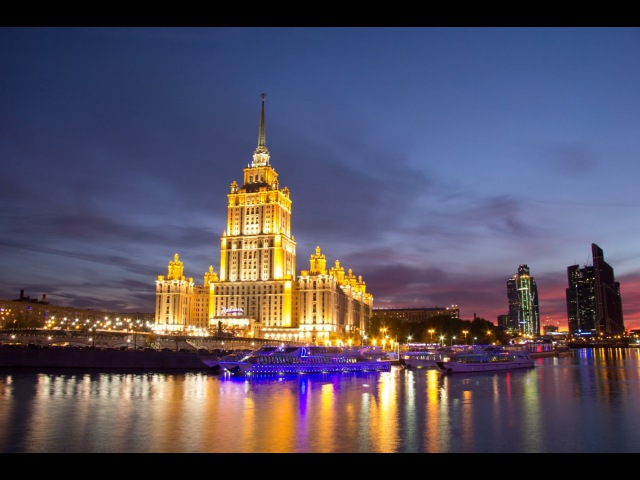 Moscow motion timelapse / City Sightseeing / What to see in Moscow