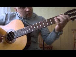 Уроки гитары.Мелодия из фильма профессионал-CHI MAI.2 часть
