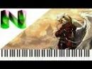Fullmetal Alchemist - Melissa Piano Cover | Synthesia