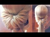 Hairstyle for long hair - Красивое и быстрое оформление хвоста - Hairstyles by REM