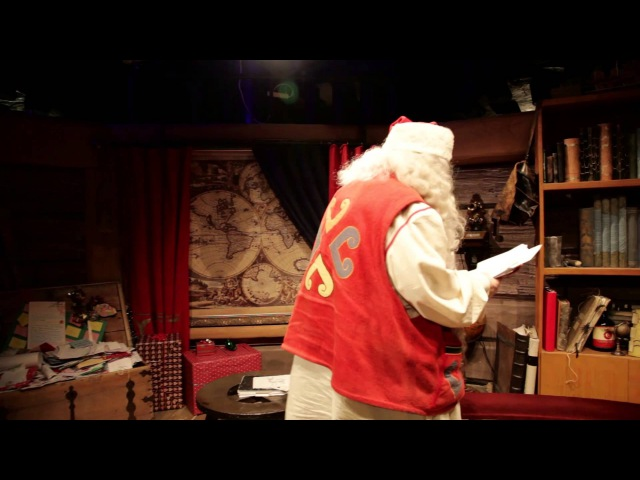 Christmas in Santa Claus Village Rovaniemi Finnish Lapland