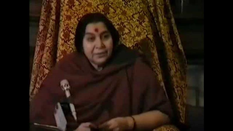 Беседа Шри Матаджи с йогами 26.11.1982 г. 3 Часть