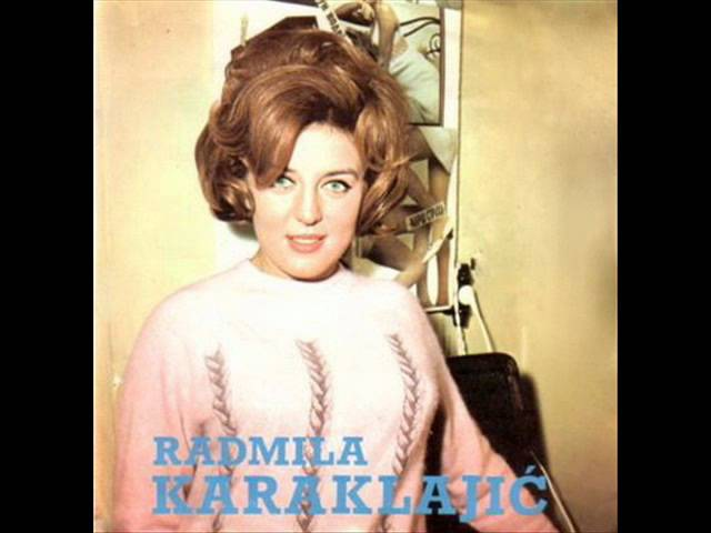 Радмила Караклаич Падает снег Cade la neve 1968