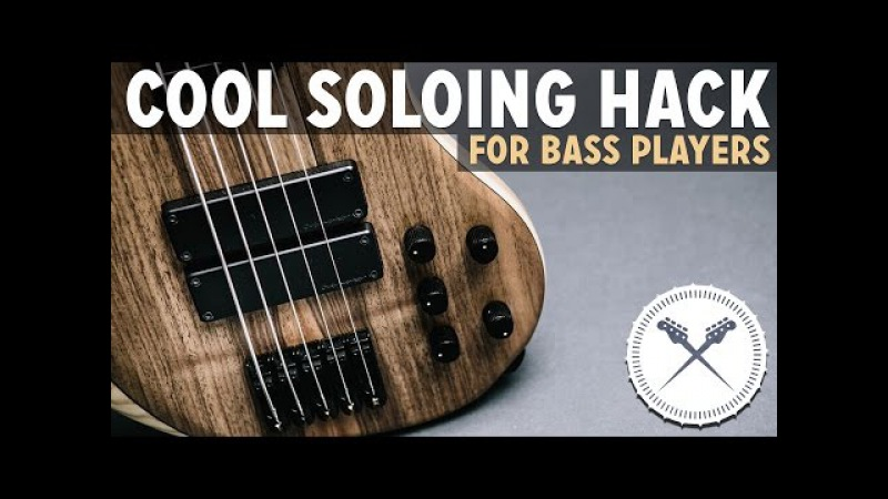 Cool Soloing Hack for Bass Players (The Blues) Scott's Bass Lessons