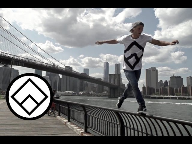 Pasha The Boss Day in NY Team Farang Freerunning