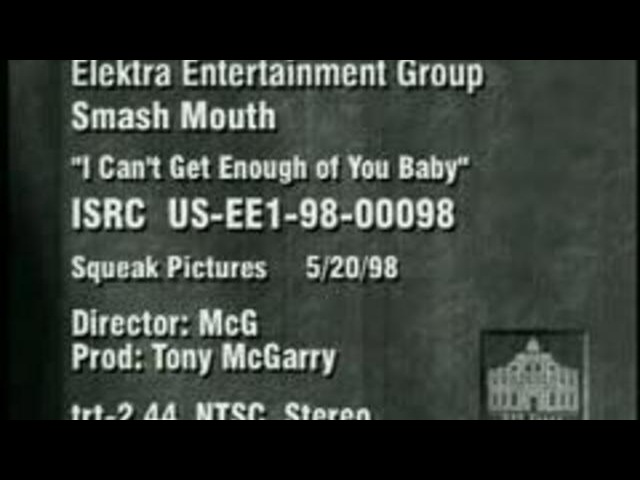 Smash Mouth - I Can't Get Enough Of You, Baby