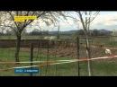 45 метрове провалля утворилося на околиці селища Солотвино