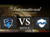 [RU] Dota 2 | Vega Squadron vs MVP Phoenix | КАРТА #1 | The International 5 | Wild Card | 27.07.2015