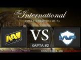 [RU] Dota 2 | NaVi vs MVP Phoenix | КАРТА #2 | The International 5 | Групповая стадия | 27.07.2015