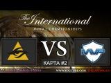 [RU] Dota 2 | Secret vs MVP Phoenix | КАРТА #2 | The International 5 | Групповая стадия | 30.07.2015