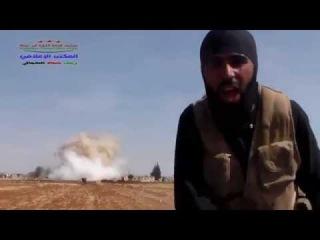 Сирия. Боевик бьется в истерике! Русские разнесли его штаб!