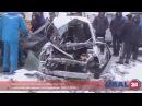 U24.ru ДТП на трассе М5 Миасс - Златоуст, эвакуация пострадавшей - 24.12.2014г.