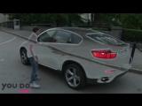 BMW автомобиль невидимка в Москве на raceface.tv
