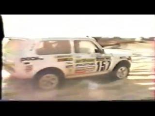 Лада Нива 4х4 на ралли-рейде Париж-Дакар