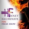 Fiolet illuminate |Вогняне шоу|Львів|Fire show|