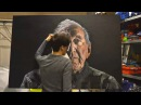 A-Level Fine Art Final Piece - Max Bowden - Timelapse Hyper Realism Acrylic Painting