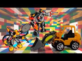 Новые Мультики - Роботы, Трансформеры. Трактор Павлик - Все Серии о роботах и трансформерах