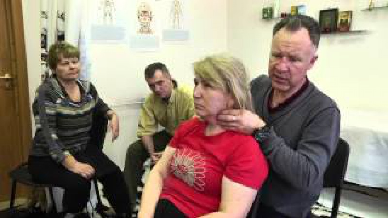 Ушаков А.Ю. Постановка атланта. Висцеральная терапия шеи. Метод Огулова А.Т.