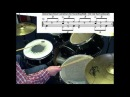 19 blues drum shuffles! Обучение игре на барабанах и ударной установке