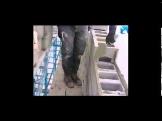 Кладка керамзитобетонных блоков - технология
