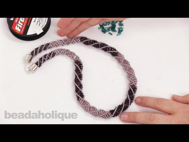 How to do a Russian Spiral Stitch in Bead Weaving