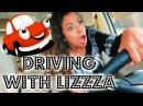 ROAD RAGE DRIVING WITH LIZZZA Lizzza