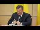 Янукович сломал ручку, извиняясь перед народом